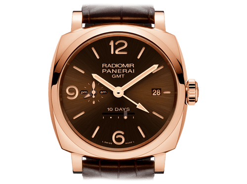 Buy original Panerai RADIOMIR 1940 10 DAYS GMT PAM00624 with Bitcoin!