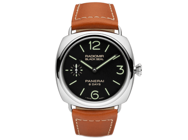 Buy original Panerai RADIOMIR BLACK SEAL 8 DAYS PAM00609 with Bitcoin!