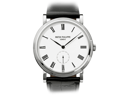 Buy original Patek Philippe CALATRAVA  5119G-001 with Bitcoins!