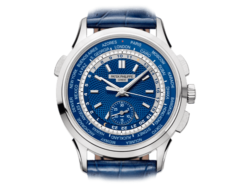 Buy original Patek Philippe COMPLICATIONS  5930G-001 with Bitcoins!
