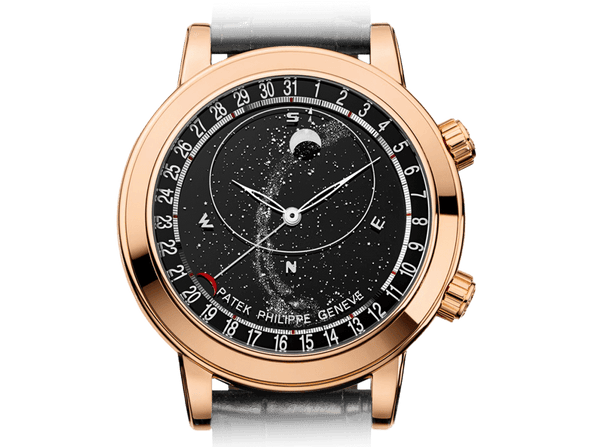 Buy original Patek Philippe Grand Complications 6102R-001 with Bitcoins!