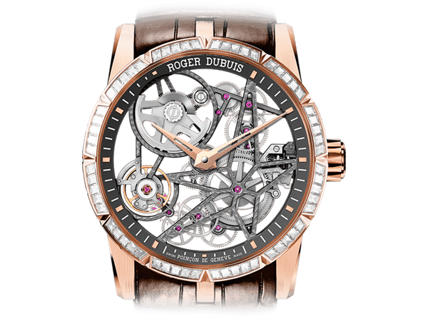 Buy original Roger Dubuis Automatic Skeleton RDDBEX0423 with Bitcoins!
