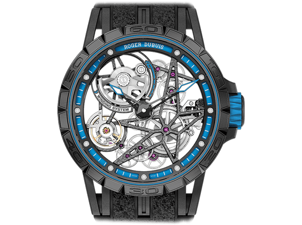 Buy original Roger DubuisExcalibur Spider Pirelli – Automatic Skeleton DBEX0575nwith Bitcoins!