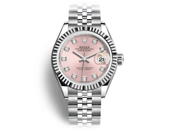 Buy original Rolex DATEJUST 28 m 179174 with Bitcoins!