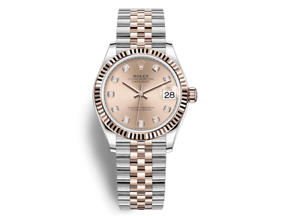 Buy original Rolex DATEJUST 31 m 178271 with Bitcoins!