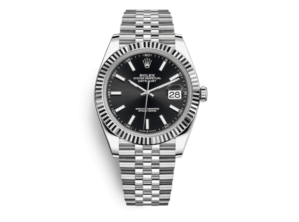 Buy original Rolex Datejust 41 m 126334-0018 with Bitcoins!
