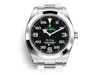 Buy original Rolex AIR-KING 116900 with Bitcoin!