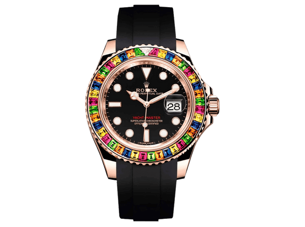 Buy original Rolex YACHT-MASTER 116695SATS with Bitcoin!