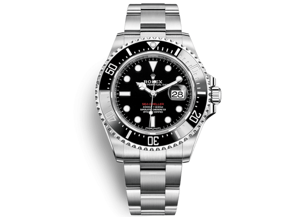 Buy original Rolex SEA-DWELLER m126600 with Bitcoins!