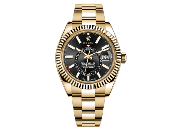 Buy original Rolex SKY-DWELLER m326938-0004 with Bitcoins!