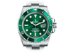 Buy original Rolex Submariner 116610LV with Bitcoins!