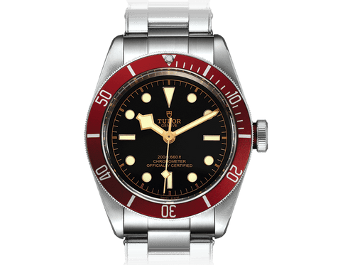 Buy original Tudor BLACK BAY SWISS DIVE M79230r-0012 with Bitcoins!