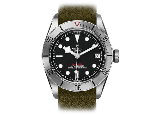 Buy original Tudor BLACK BAY STEEL M79730-0004 with Bitcoins!