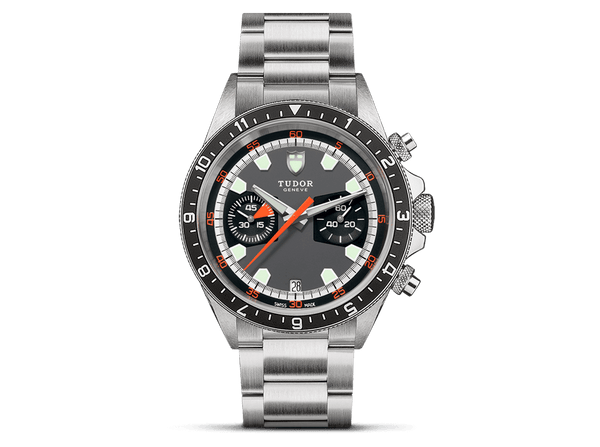 Buy original Tudor HERITAGE CHRONO M70330N-0001 with Bitcoins!