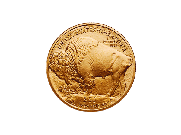 Buy original gold coins USA 1 oz American Buffalo Gold with Bitcoin!