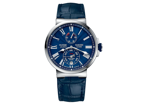 Buy Ulysse Nardin Marine Chronometer with Bitcoin on BitDials