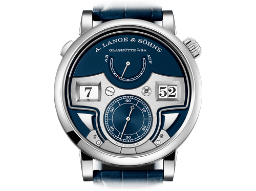Buy original A.Lange & Sohne Zeitwerk minute repeater 147.028 with Bitcoins!