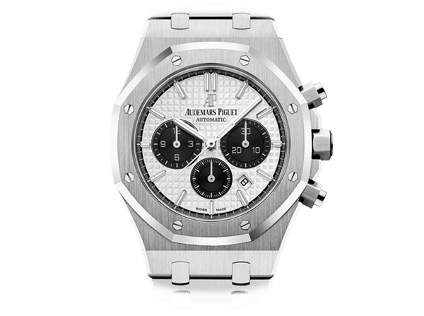 Buy original Audemars Piguet ROYAL OAK CHRONOGRAPH with Bitcoins!