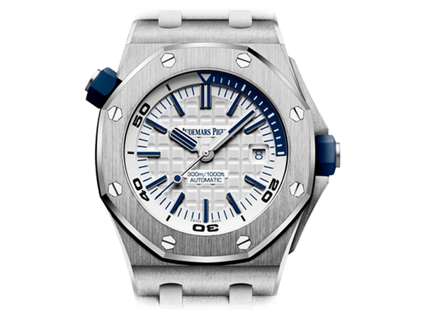 Buy original Audemars Piguet ROYAL OAK OFFSHORE DIVER with Bitcoins!