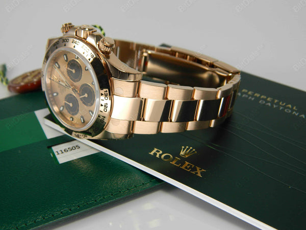 Buy original Rolex Daytona 116505 with Bitcoins at BitDials.eu