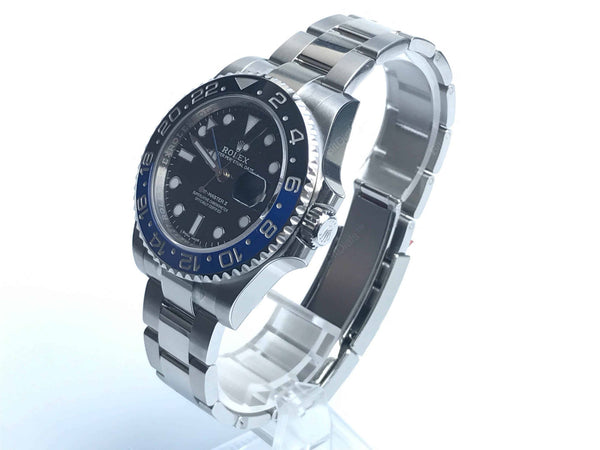 Buy original Rolex GMT-MASTER II 116710BLNR with Bitcoins at www.bitdials.eu