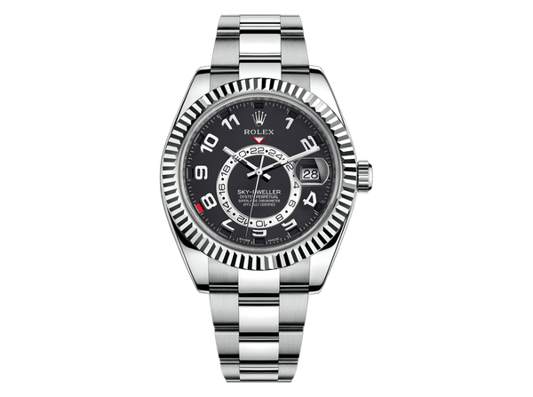 Buy original Rolex SKY-DWELLER 326939 with Bitcoins!