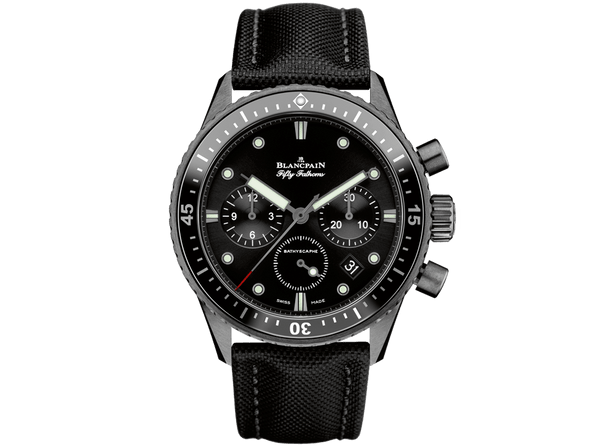 Buy original Blancpain BATHYSCAPHE CHRONOGRAPHE FLYBACK 5200-0130-B52A with Bitcoins!