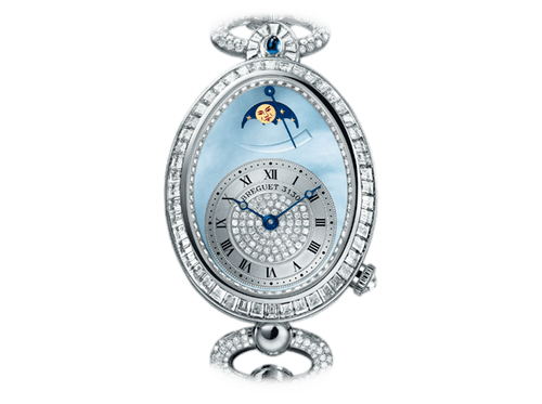 Buy original Breguet REINE DE NAPLES 8909 8909BB/VD/J29/DDD0 with Bitcoins!