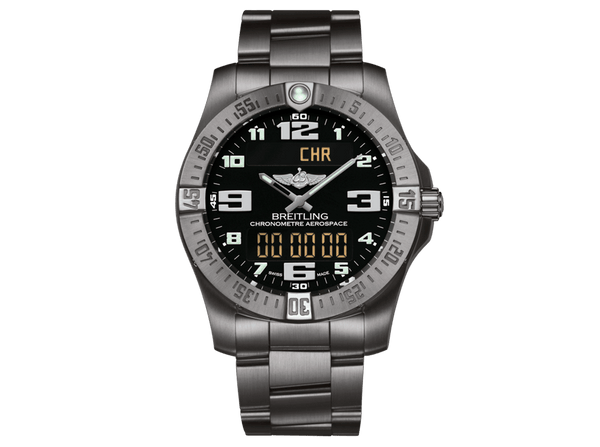 Buy original Breitling AEROSPACE EVO TITANIUM E7936310/BC27/152E with Bitcoins!