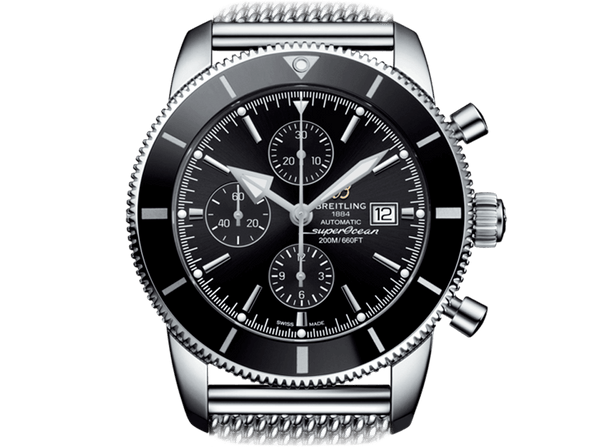 Buy original Breitling SUPEROCEAN HERITAGE II CHRONOGRAPH 46 A1331212/BF78/152A with Bitcoins!
