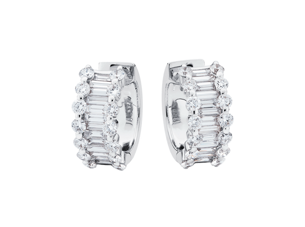 Buy original Bucherer EARRINGS CLASSICS 1287-363-7 with Bitcoins!