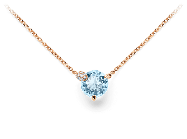 Buy original Bucherer NECKLACE PEEKABOO 1299-731-6 with Bitcoins!