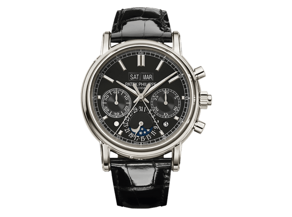 Buy original Patek Philippe Grand Complications Platinum 5140P-011 with Bitcoins!