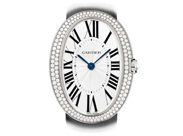 Buy original Cartier BAIGNOIRE WATCH WB520009 with Bitcoins!