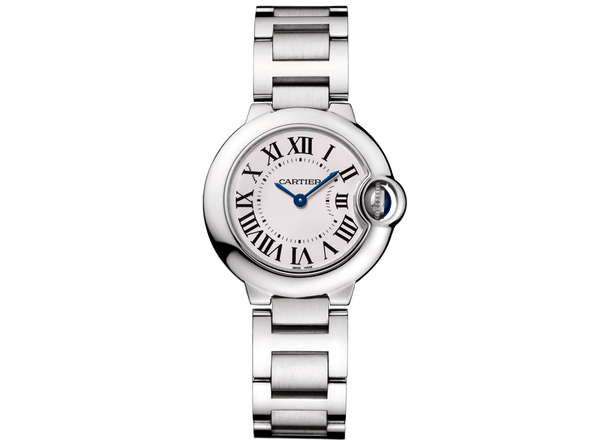 Buy original Cartier Ballon Bleu 28 W69010Z4 with Bitcoins!