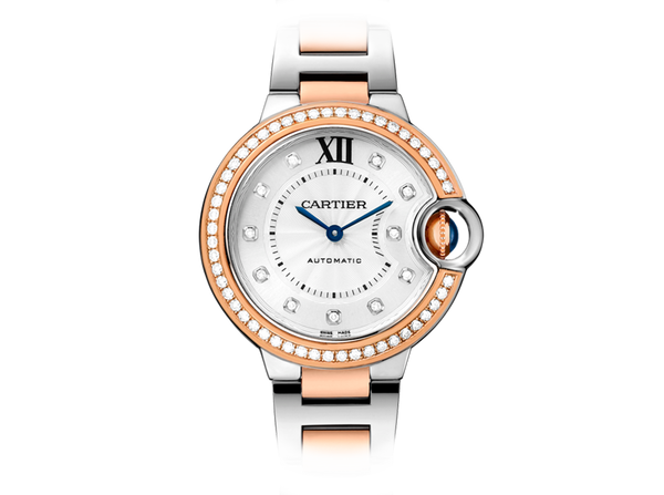 Buy original Cartier Ballon Bleu 33 WE902077 with Bitcoins!