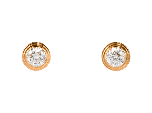 Buy original Cartier Diamants Légers earrings B8041600 with Bitcoins!