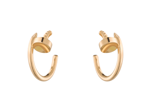 Buy original Cartier Juste un Clou earrings B8301235 with Bitcoins!
