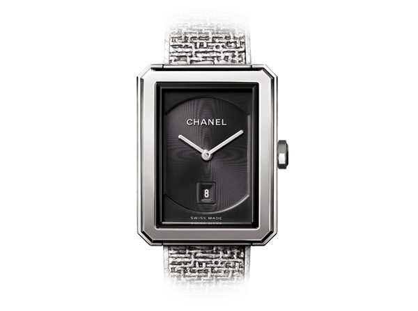 Buy original Chanel BOY-FRIEND TWEED H4878 with Bitcoins!