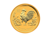 Buy original gold coins 1 kg Gold Lunar Cock 2017 with Bitcoin!
