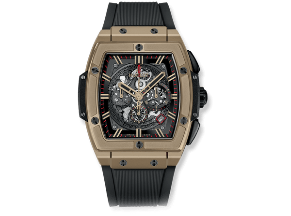 Buy original Hublot SPIRIT OF BIG BANG FULL MAGIC GOLD with Bitcoins!