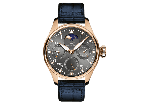 Buy original IWC BIG PILOT PERPETUAL 80TH ANNIVERSARY OF THE FIRST IWC PILOT'S WATCH Bitcoins!