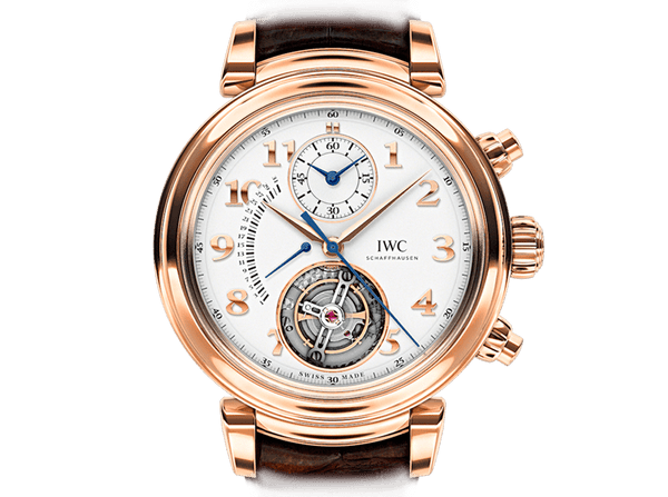 Buy original IWC DA VINCI TOURBILLON RÉTROGRADE CHRONOGRAPH IW393101 Bitcoins!