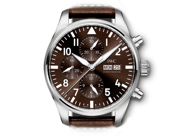 Buy original IWC PILOT'S WATCH CHRONOGRAPH EDITION ANTOINE DE SAINT EXUPERY IW377713 with Bitcoins!