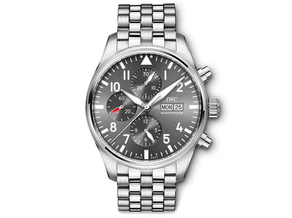 Buy original IWC PILOT'S WATCH CHRONOGRAPH SPITFIRE IW377719 with Bitcoins!