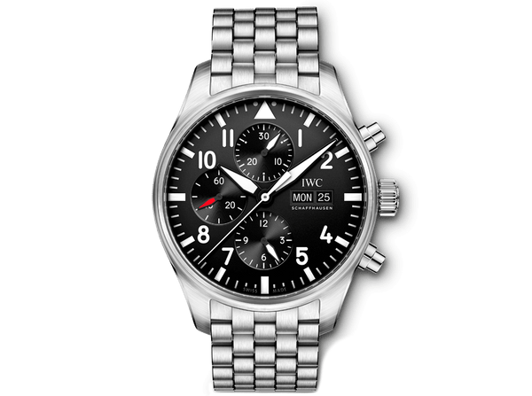 Buy original IWC PILOT'S WATCH CHRONOGRAPH  IW377710 Bitcoins!