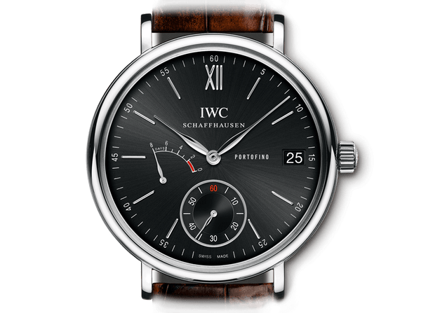 Buy original IWC PORTOFINO HAND-WOUND 8 DAYS IW510102 Bitcoins!