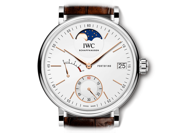 Buy original IWC PORTOFINO HAND-WOUND MOON PHASE IW516401 Bitcoins!