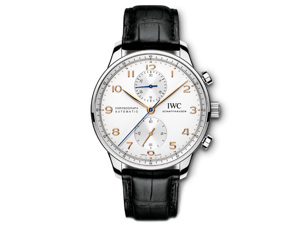 Buy original IWC PORTUGIESER CHRONOGRAPH IW371445 with Bitcoins!