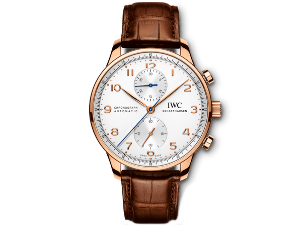 Buy original IWC PORTUGIESER CHRONOGRAPH IW371480 Bitcoins!